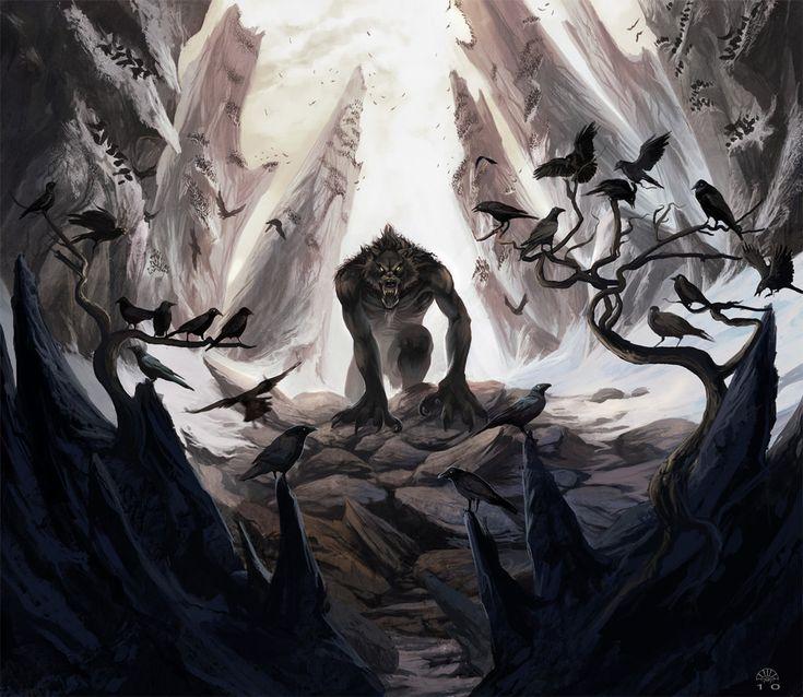 Crow Eater by AlectorFencer.deviantart.com on @deviantART