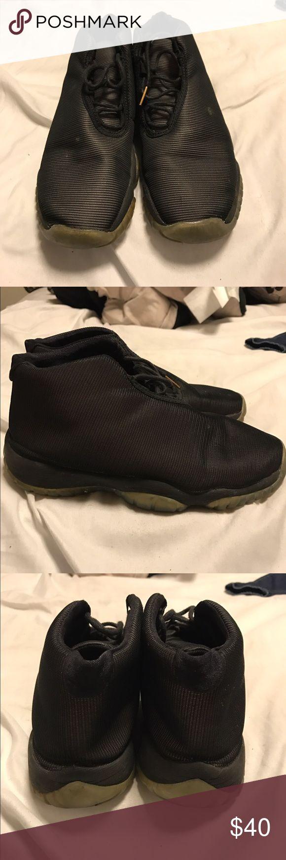 Jordan Futures 3M Reflective Worn jordan futures. 4.5 in kids Jordan Shoes Sneakers