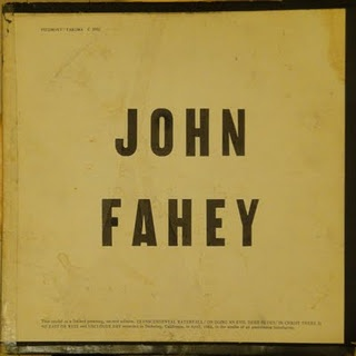 John Fahey - Blind Joe Death album cover