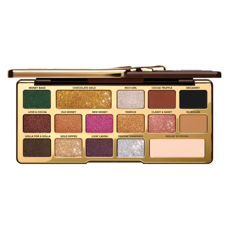 Too Faced - GOLD CHOCOLATE BAR