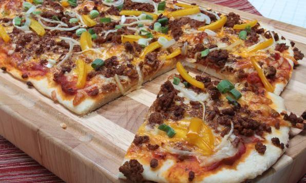 Appehtite - Turkey Taco Pizza
