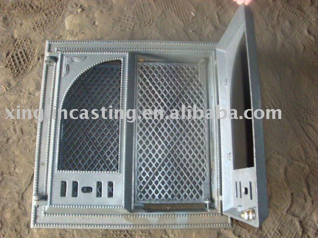 rustic cast iron fireplace doors | Botou Xinglin Crafts Casting Co., Ltd. [Verificado]