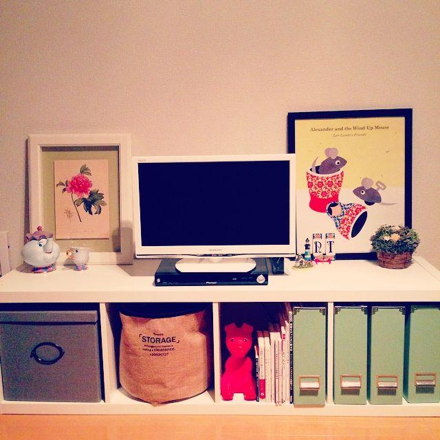 IKEAの絶対にチェックしたい家具15選 | RoomClip mag | 暮らしと ... テレビ台にもぴったりです