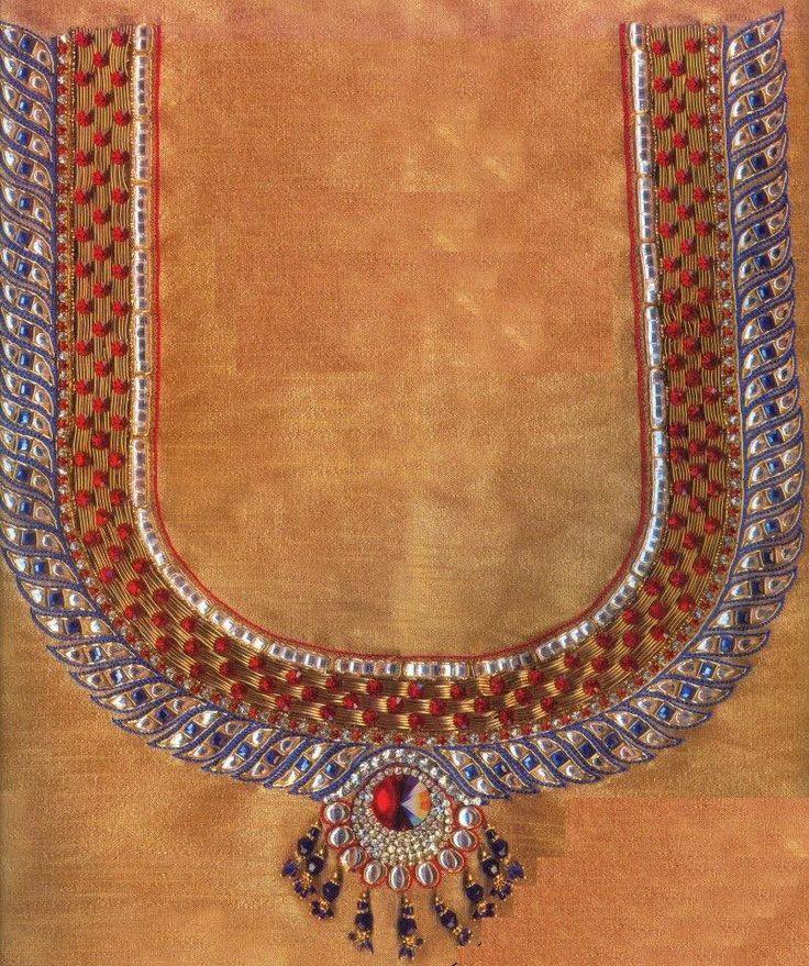 Pin by samvijay mani on maggam aari zardosi embroidery