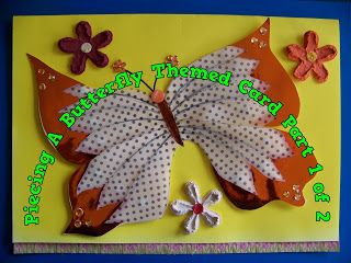 A Pretty Talent Blog: Cardmaking: Paper Piecing Your Designs Part 2
