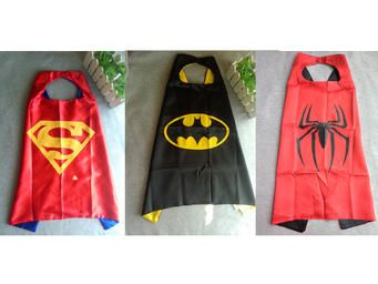 Now your little one can save the world with a superhero cape and mask!