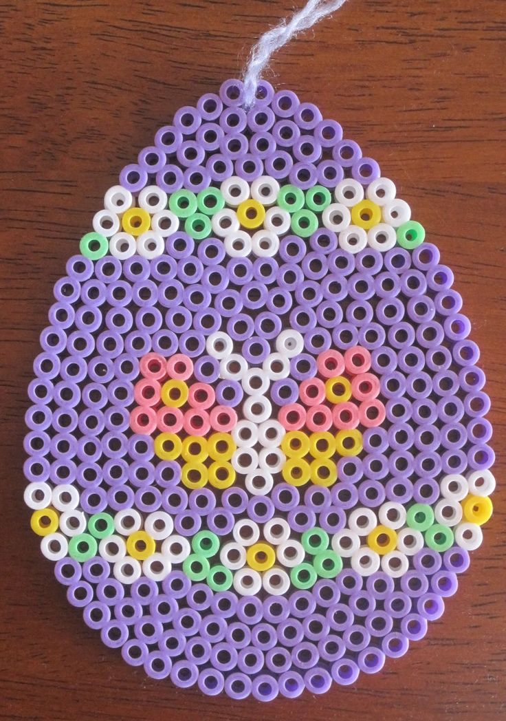 Easter egg -- perler beads