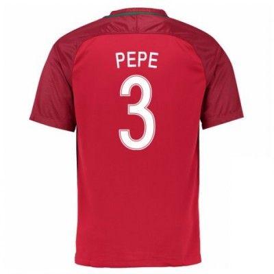 Portugal 2016 Pepe 3 Hjemmebanetrøje Kortærmet.  http://www.fodboldsports.com/portugal-2016-pepe-3-hjemmebanetroje-kortermet.  #fodboldtrøjer