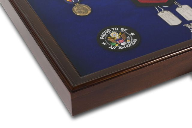 Freedom Display Cases - Military Medal Display Case - Large, $64.00 (http://www.freedomdisplaycases.com/military-medal-display-case-large/)