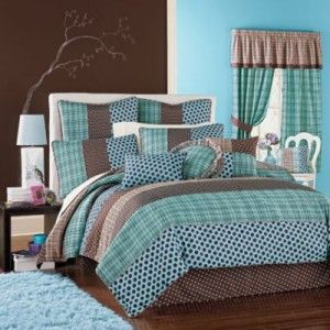 Best Molly Bedding Images On Pinterest Teen Bedding - Blue and brown teen bedding