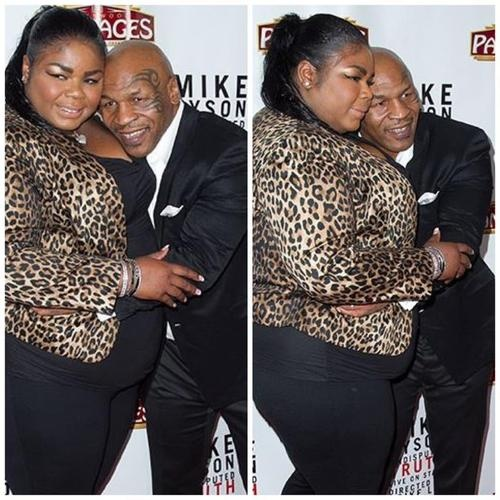 Mike Tyson and his eldest daughter