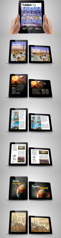 TabletMag - digital magazine for iPad by Michael Korecki http://www.behance.net/gallery/TabletMag-digital-magazine-for-iPad/1854353