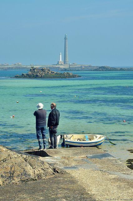 ... au bord de l'eau, en Bretagne...