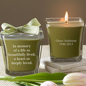 Memorial candles for the ones that cant be there to share the day with us