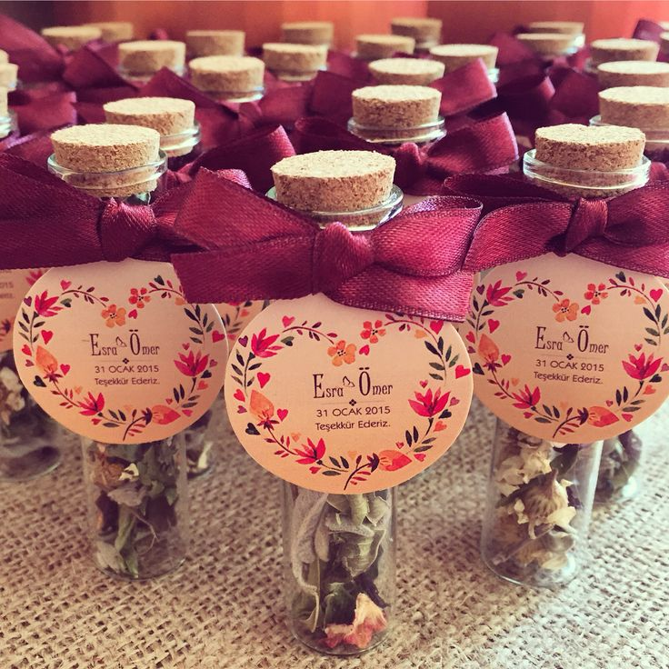 Wedding favors  - winter tea Nikah Hediyesi - kış çayı www.masalsiatolye.com