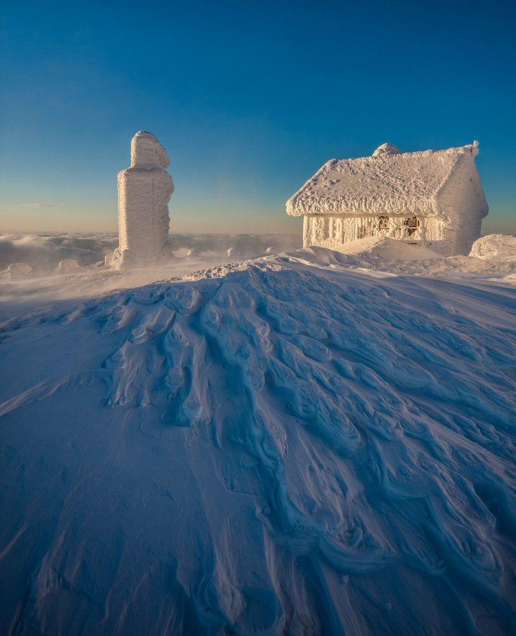 Winter Sunrise, Karkonosze Mountains, Poland