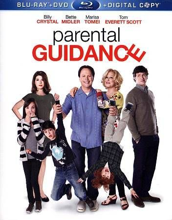 Parental Guidance (Blu-ray/DVD, 2013, 2-Disc Set) Billy Crystal, Bette Midler #20thCentury