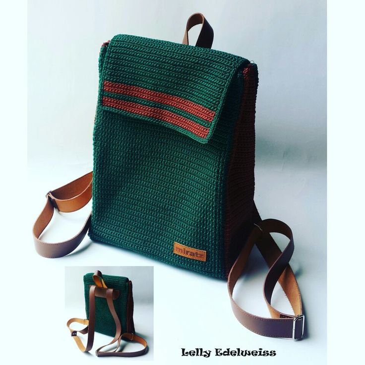 Crochet Backpack colaboration