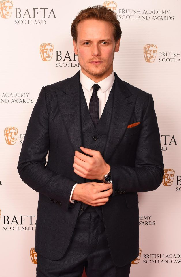 Sam looking sharp at the Scottish Baftas