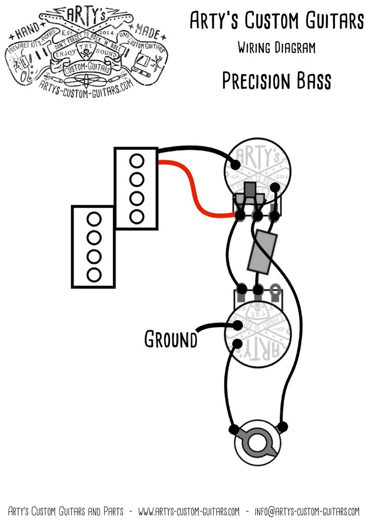 22 best Wiring Diagram Guitar Kit images on Pinterest | Bass, Custom ...