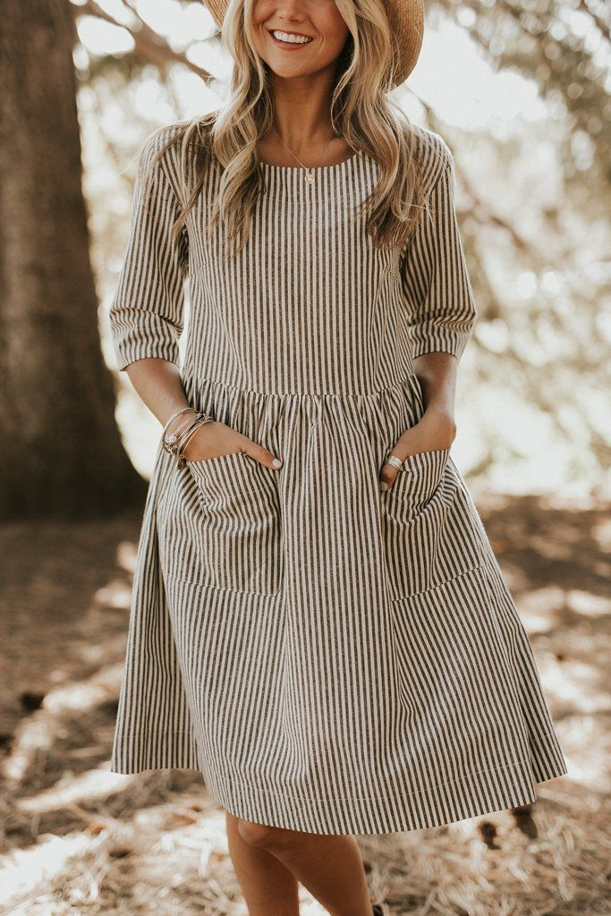 Hollis Pocket Dress | ROOLEE