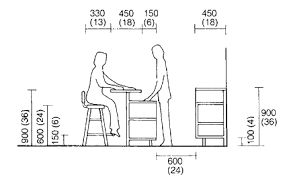 Image Result For Standard Lounge Bar Counter Dimension In