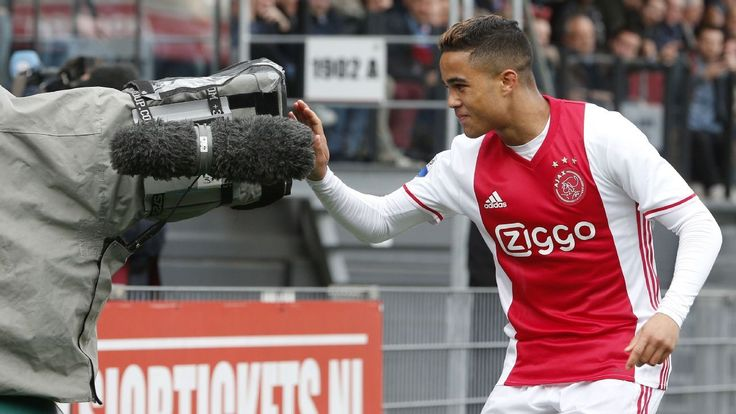 Justin Kluivert hopes to emulate father Patrick by winning European trophy