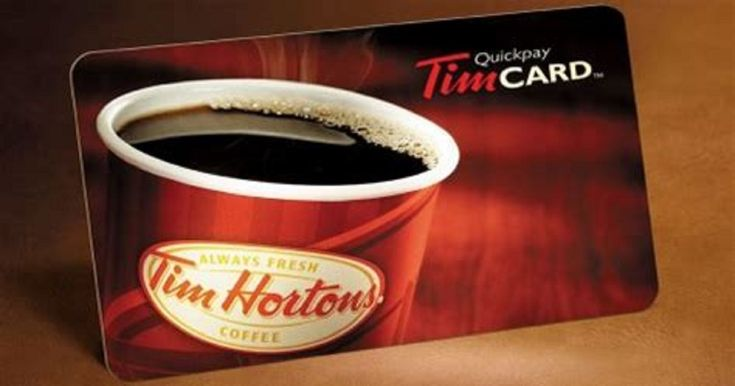 Win a $50 Tim Hortons Gift Card • Canadian Savers