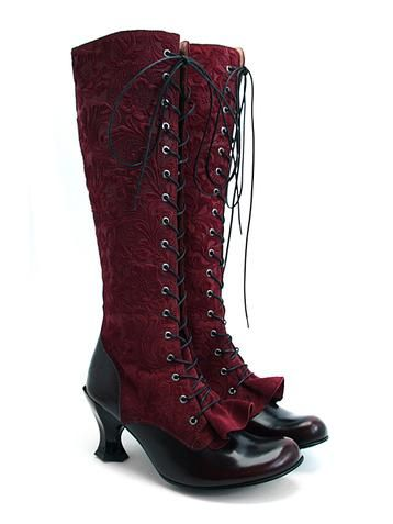 i love these boots but if they were more industrial at the bottom or more pointed i would love them even more