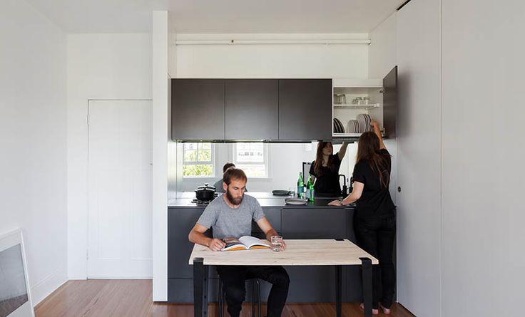 澳洲 8 坪套房全能櫃空間設計 - DECOmyplace