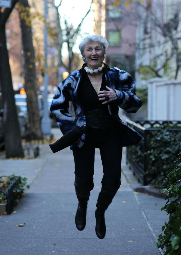Liz Friedman | Love the boots, and of course, the jumping for joy in the streets of NYC.
