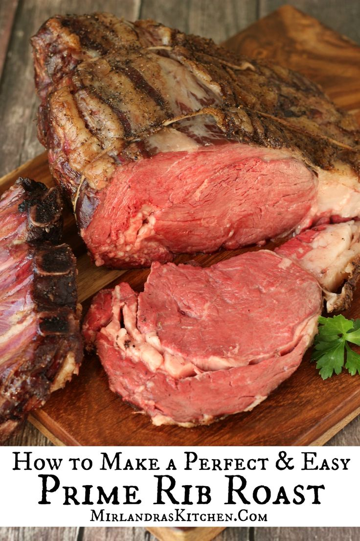 Making a special Prime Rib Roast does not need to be intimidating.  This recipe has simple instructions and tips to make the perfect roast that will amaze all your dinner guests.  This is the holiday roast people will be telling stories about ten years from now!