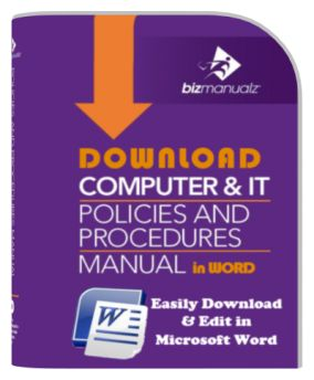 Computer IT Policies And Procedures Manual | IT Policy Manual