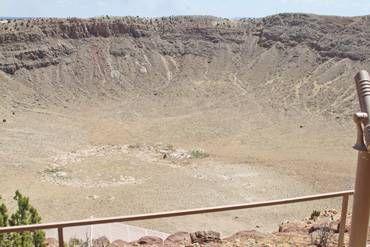 Meteor Crater, off Interstate 40, Arizona, USA