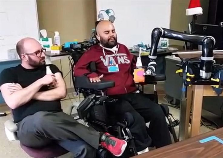 Using intentions to control a robotic prosthetic.