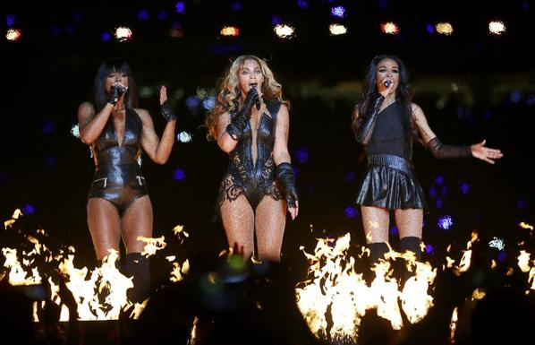 Destiny's Child reunion! Perfect Halftime Show for the RAVENS WIN!