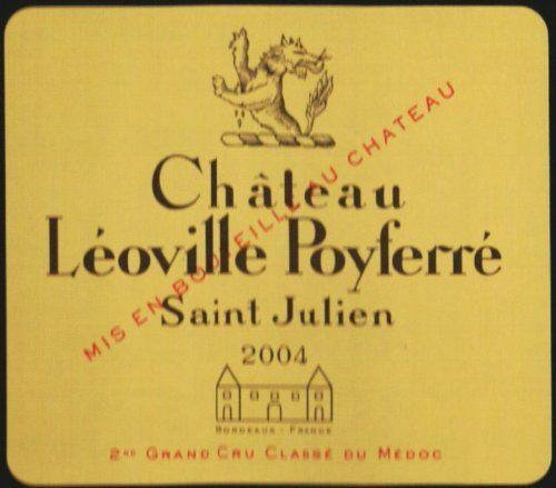 2004 Leoville Poyferre, Bordeaux 750 mL ** More details…