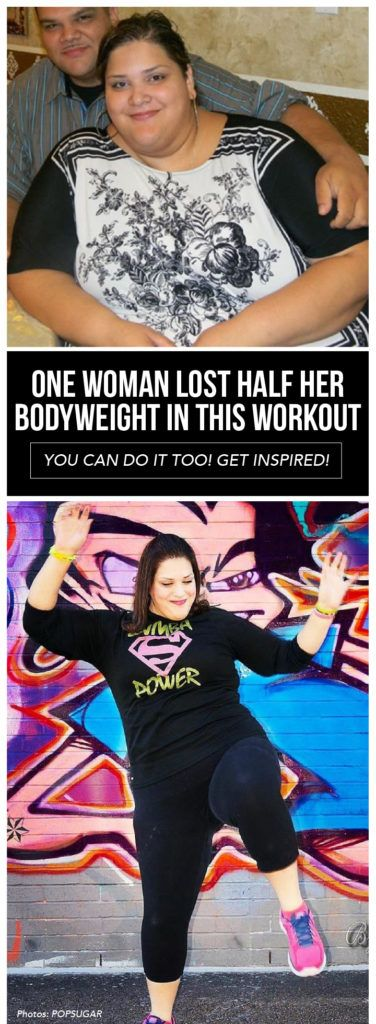 One Woman Lost Half Her Bodyweight in this Workout