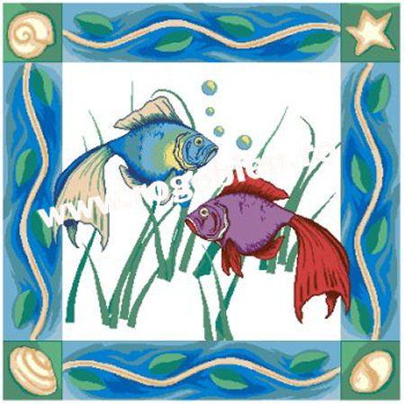 Cod produs 10.84 Exotici marini Culori: 20 Dimensiune: 41 x 41cm Pret: 82.58 lei