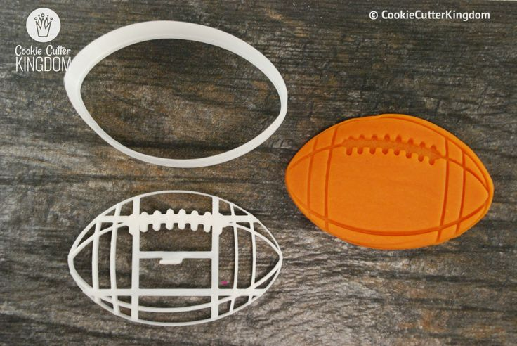 Football Cookie Cutter and Stamp Set
