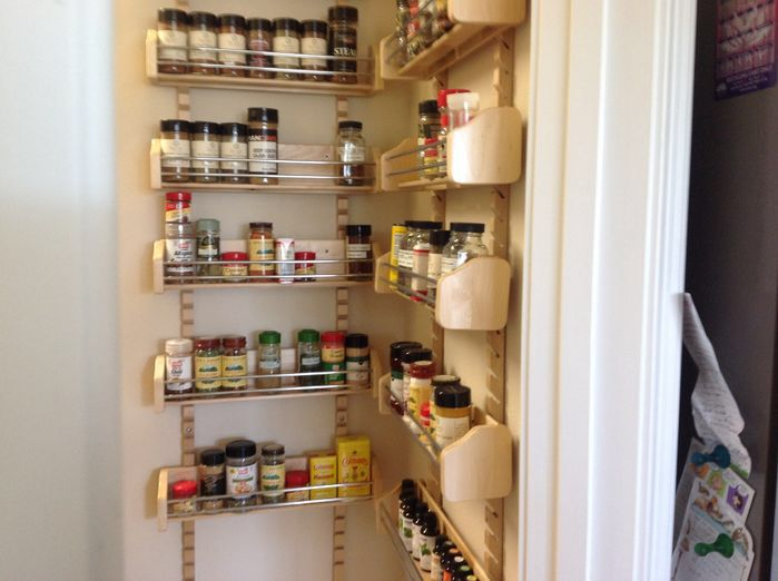 Best 25+ Door Mounted Spice Rack Ideas On Pinterest | Cabinet Door Spice  Rack, Door Spice Rack And Spice Racks For Cabinets