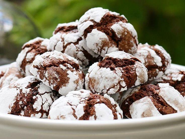 Craquelés au chocolat au Thermomix - Cookomix