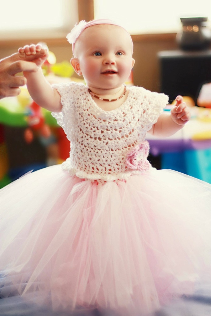Crochet Tutu Dress.... Jake and Jill Baby and Tot Designs