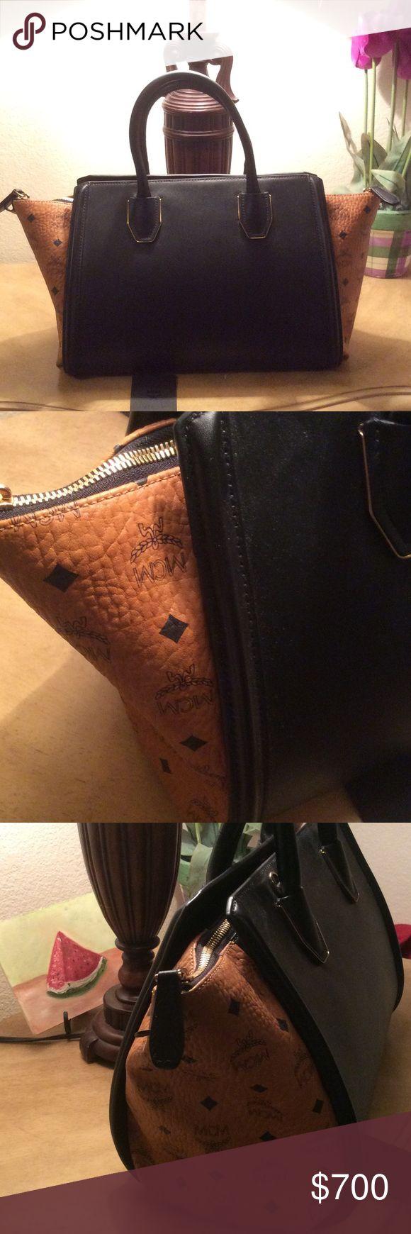 MCM tote 💘💘💘💘FLASH SALE💘💘💘 Gorgeous MCM medium Kathy Visetos tote. Brand new!! Comes with tags MCM Bags