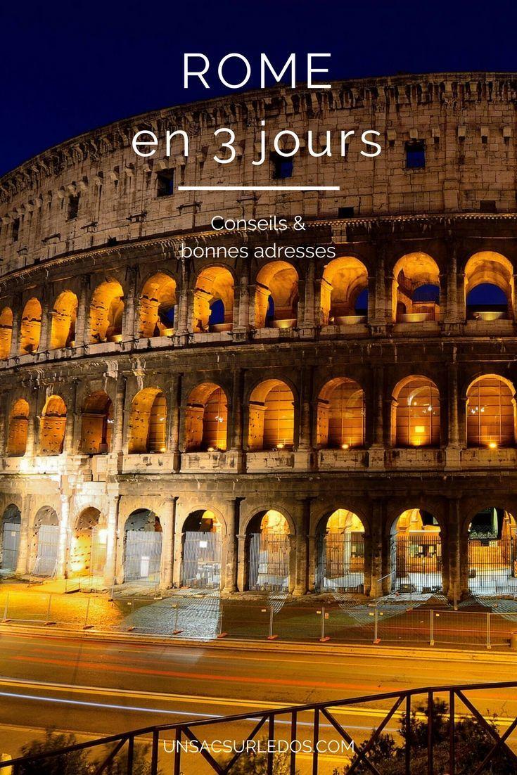 Rome m'a toujours fait rêver : un vrai décor de films, entre romance et histoire ! Et puis, tant de sites archéologiques à visiter : le Colisée et le Forum, le Vatican, la basilique Saint-Pierre, la place Navona, la fontaine de Trévi… Cette ville si riche sous tant d'aspects mérite qu'on s'y attarde des jours voire des semaines, mais c'est en trois jours que nous l'avons découverte. Alors, découvrir Rome en 3 jours : mission impossible ?