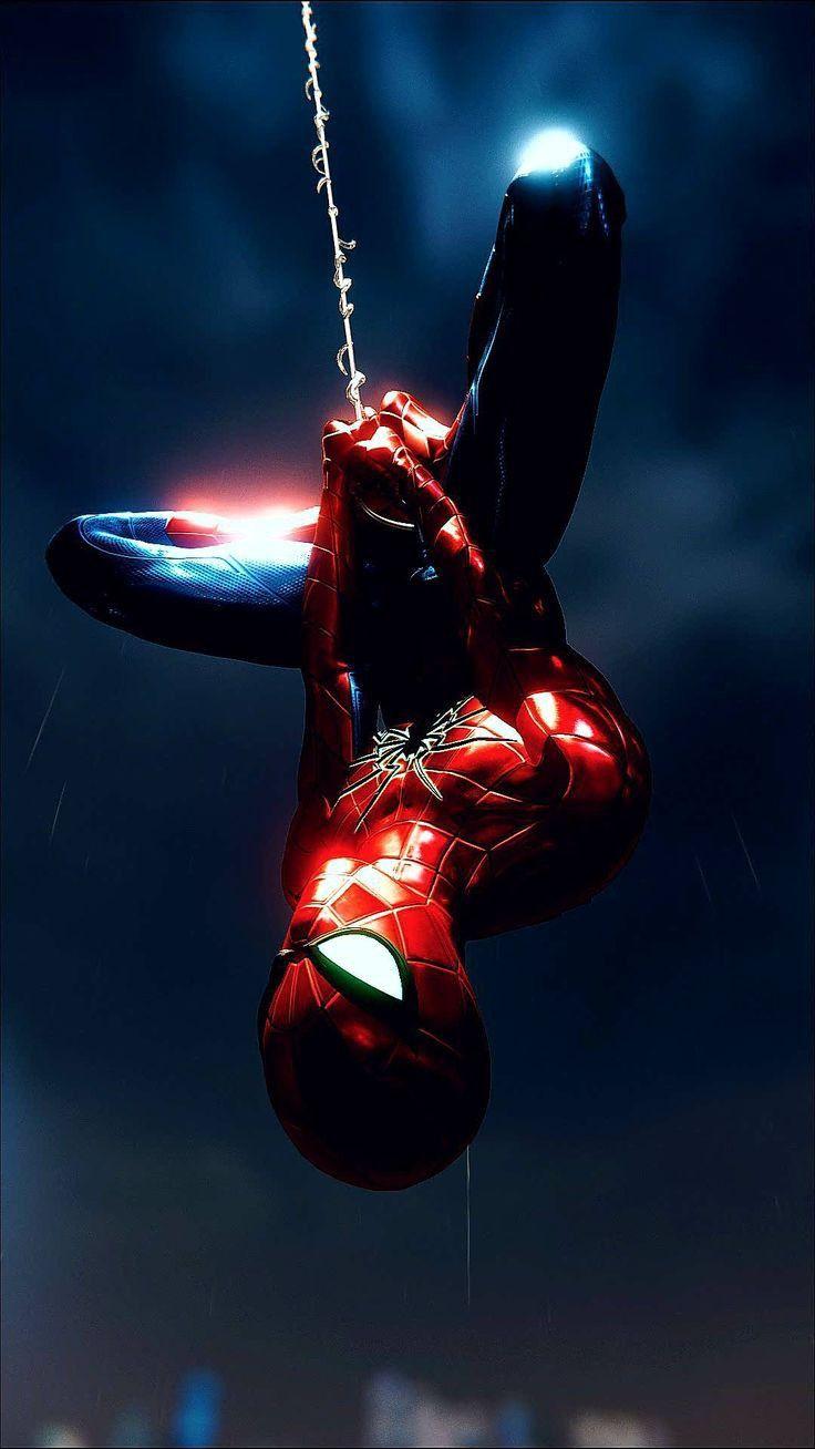 Spider Armor MK IV (Parker Industries) upside-down perch