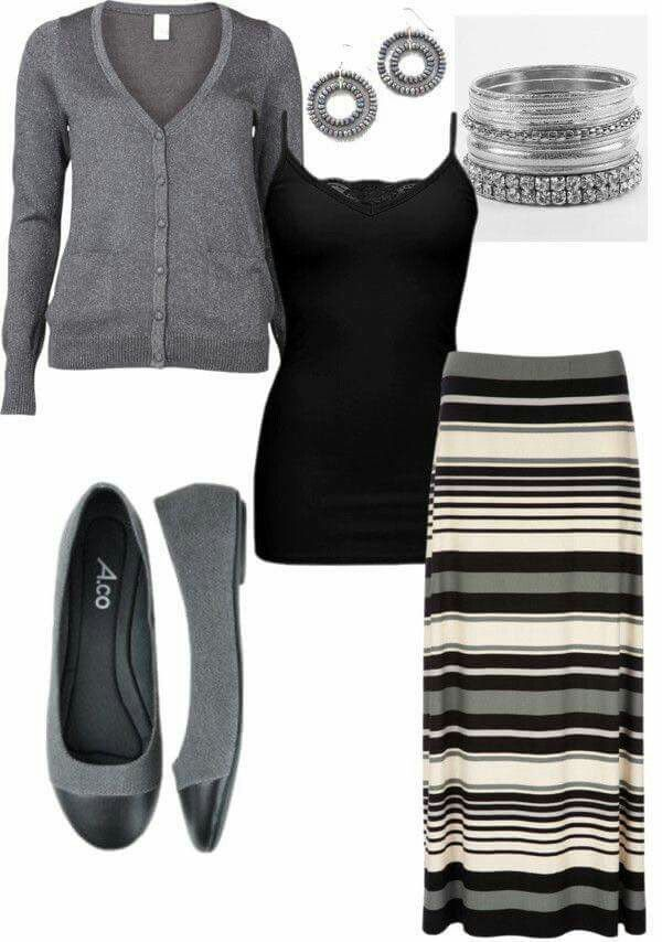 Camisole and skirt