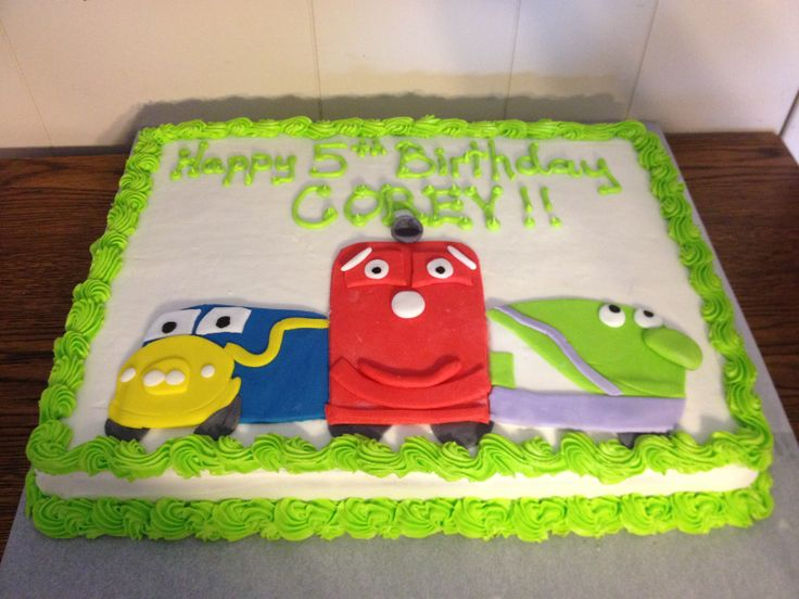 74 best Chuggington Cakes Treats images on Pinterest