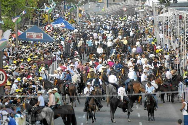 Cabalgata en Bucaramanga