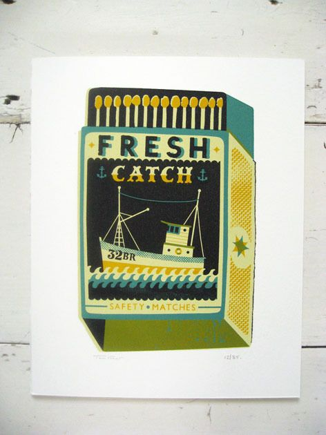 Large Fresh Catch / Tom Frost